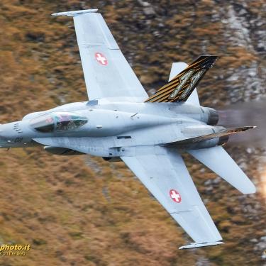 Axalp Ebenfluh Fliegerschiessplatz - Swiss Air Force Live Fire Event 2018