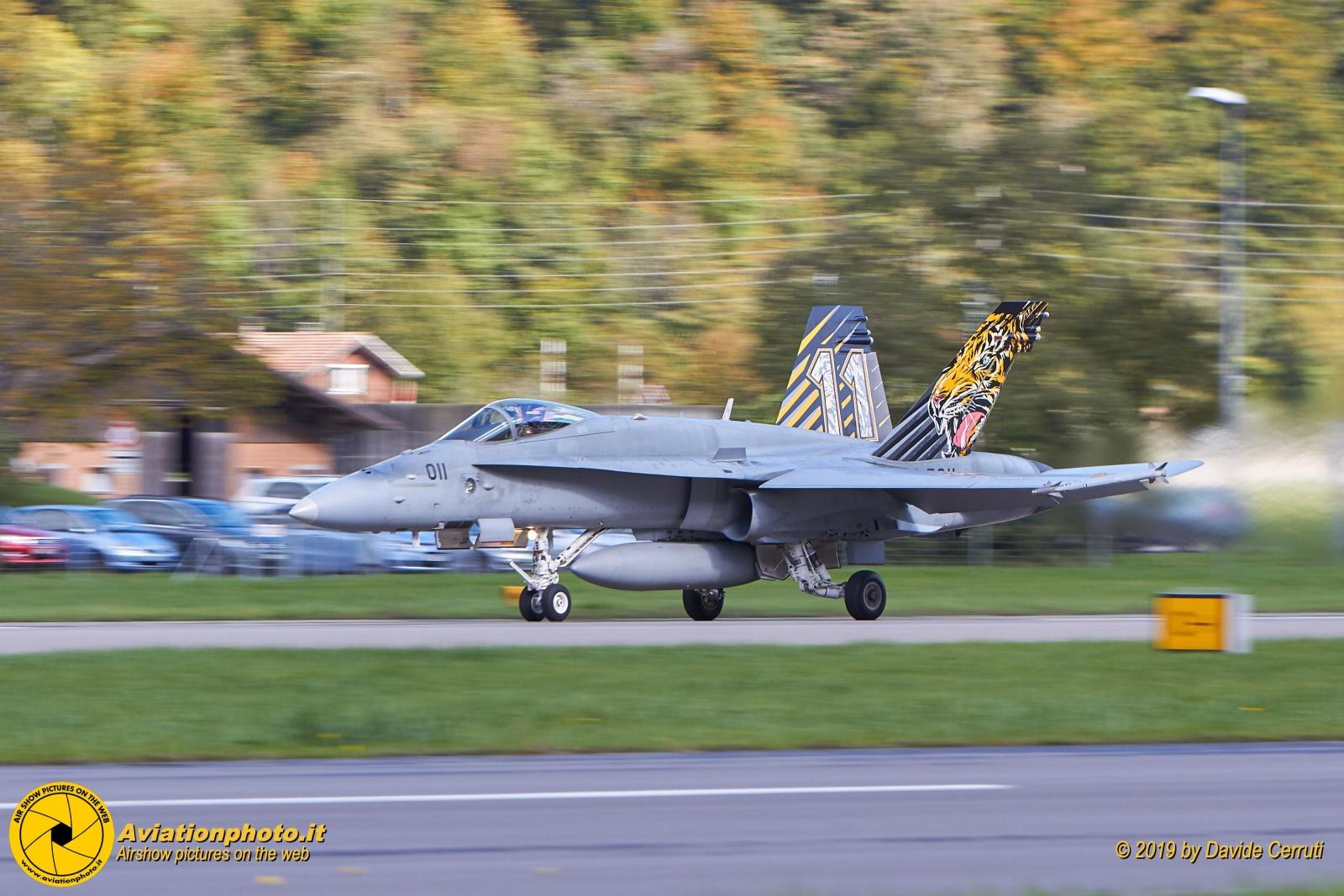 Meiringen Air Base Axalp 2019 Fly Operations