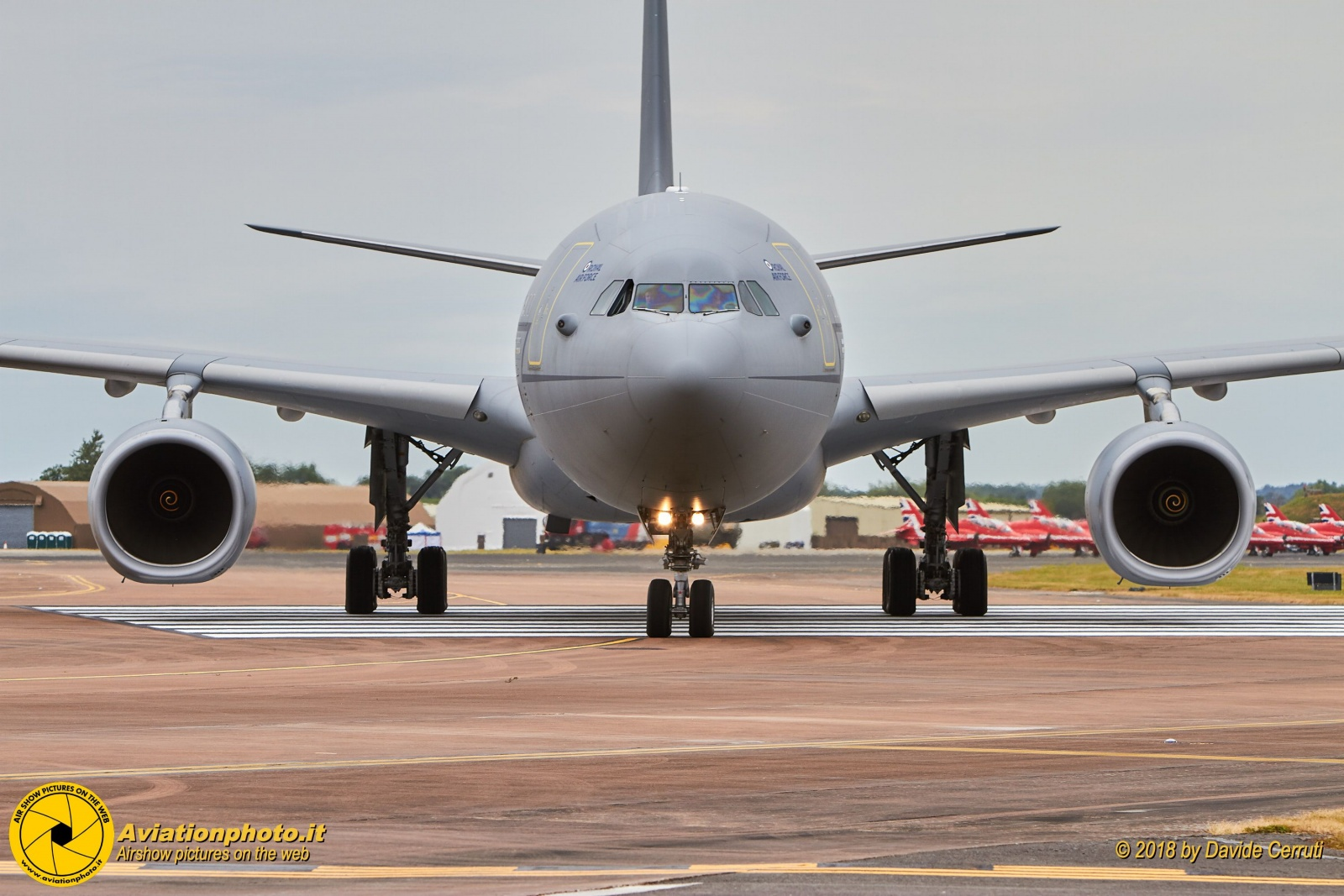 Royal International Air Tattoo 2017 - Arrivals & Rehearsal