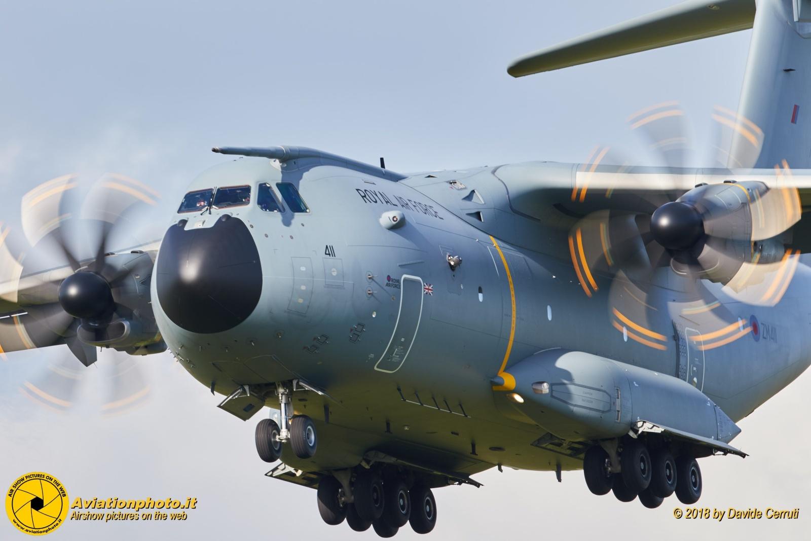 Brize Norton Air Base Royal Air Force UK