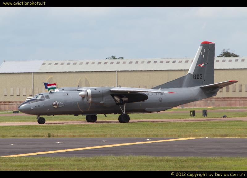 Royal International Air Tattoo 2012 - Thursday Arrivals