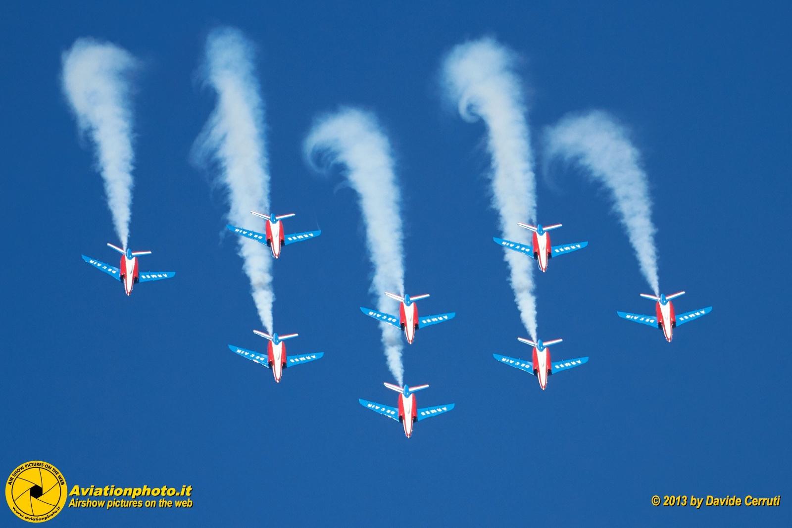 60 Ans Patrouille de France - BA 701 Salon-de-Provence